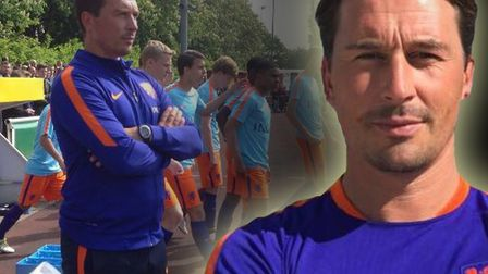 Martijn Reuser is the new head coach of Holland Under 15s. Picture: Twitter