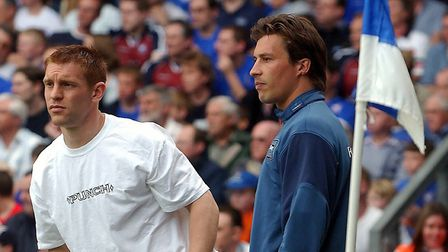 Reuser left Ipswich in 2004 and returned to Holland after more than 100 appearances. Picture: OWEN H