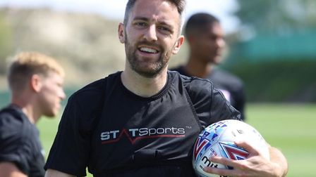Cole Skuse, pictured at the Blues' Spanish training camp. Picture: ITFC