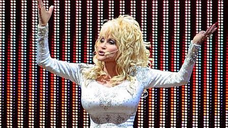 America gave us country music - here, Dolly Parton, one of its exponents. Picture: PA WIRE