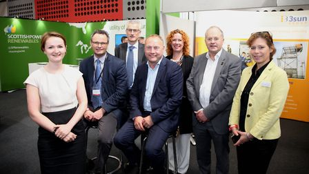 Employers and training partners at launch of the East of England Offshore Wind Training Centre Pi