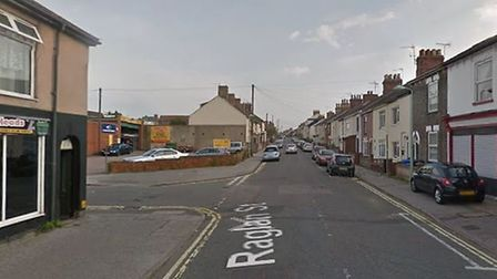 A man suffered head injuries after the quad bike he was riding collided with a car in Raglan Street,