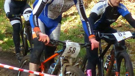 Andrew Cockburn (left) and Elvita Branch were the men's and women's winners at Hintlesham. Picture: