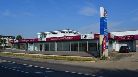 The former Big Cars showroom at Witham which is going to be home to Cannon BMW