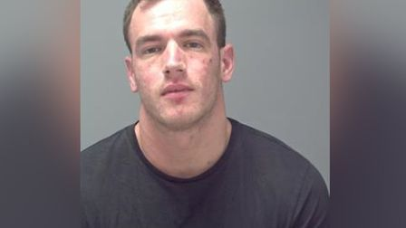 Nicky Ramage was jailed for 10 months for the attack in Unit 17 Picture: SUFFOLK CONSTABULARY