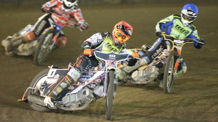 Scott Nicholls, who guested for the Witches at Sheffield Photo: STEVE WALLER