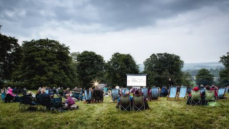 Kenton Hall has teamed up with Film on a Farm to host outdoor cinema events this summer Picture: JUL