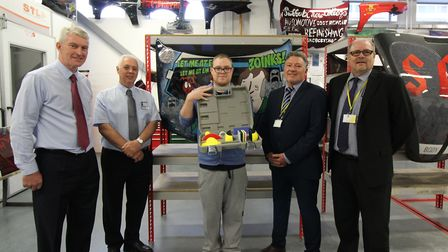 Vehicle repair students at Suffolk New College showed off their talents with an competition to desig