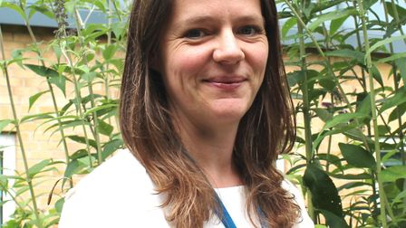 Helena Jopling, public health consultant at West Suffolk NHS Foundation Trust Picture: West Suffolk