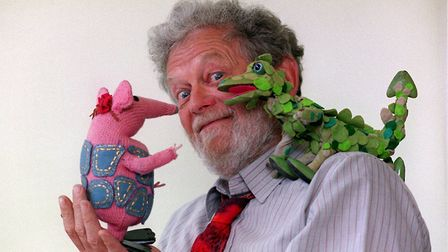 Mr Firmin, creator of Bagpuss and The Clangers Picture: TOBY MELVILLE/PA WIRE