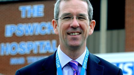 Ipswich and Colchester hospitals' managing director, Neill Moloney Picture: ANDY ABBOTT