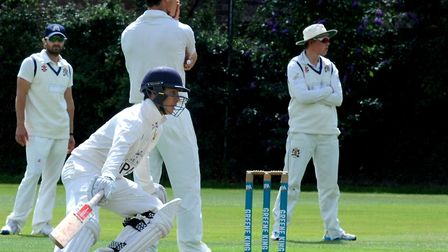 Alex Oxley, who scored 29 in Copdock & OI's five-wicket win over Burwell & Exning. Picture: ANDY ABB