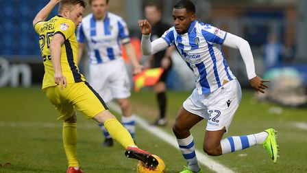 Kane Vincent-Young made 80 appearances for Colchester United. Photo: Pagepix