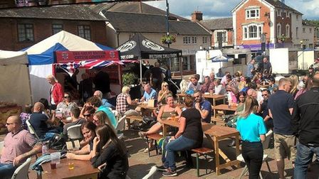 Haverhill's popular beer and music festival is returning at the weekend Picture: ST EDMUNDSBURY BORO