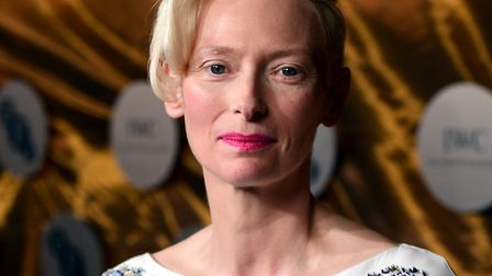Tilda Swinton is also starring in the new David Copperfield film Picture: IAN WEST/PA WIRE