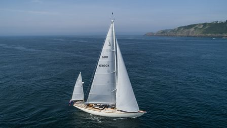 Spirit Yachts' DH63 sailing out Picture: MIKE JONES