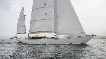 Spirit Yachts: relaxed cruising on the Spirit DH63 Picture: MIKE JONES