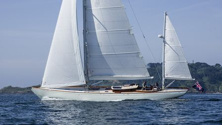 Spirit Yachts' DH63 under full sail Picture: MIKE JONES