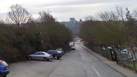 The stabbing happened in a car park near to Haverhill Rugby Club Picture: GOOGLE