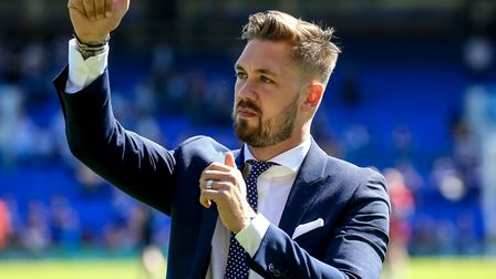 Captain Luke Chambers has been a virtual ever-present for Ipswich Town over the last six seasons, ra