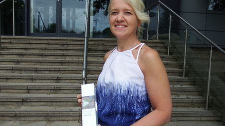 Angela Demoore, from West Suffolk College, who scooped a national award Picture: DANNY HEWITT