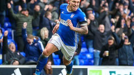 Ipswich Town are ready to turn down big offers for Martyn Waghorn. Photo: Steve Waller