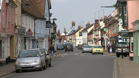 The incident happened in Hadleigh High Street Picture: SIMON PARKER