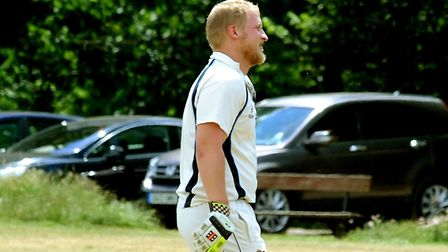Mark Burch, who top-scored with 69 in Ipswich's win over Witham. Picture: ANDY ABBOTT
