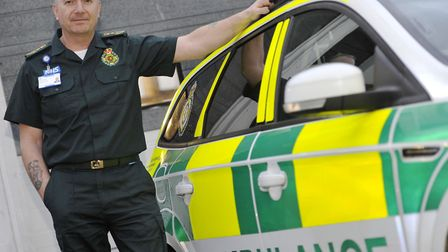 Robert Morton, chief executive of the East of England Ambulance Service Picture: SU ANDERSON