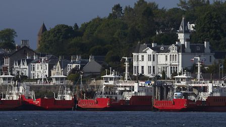 Hunter's Quay, Dunoon, where Red7Marine has scooped a berths improvement contract Picture: IAN GILES