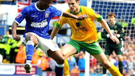 Kevin Lisbie enjoyed a decent debut campaign at Ipswich, but there was no way back after he fell out