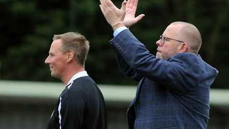 AFC Sudbury team manager Mark Morsley, excited about the season ahead Photo: ANDY ABBOTT
