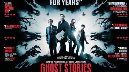 Poster for new film Ghost Stories. Picture: LIONSGATE