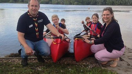 The grant from CDS Action paid for new kayaks Picture: CDS ACTION