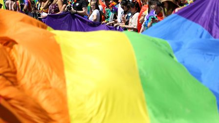 More than one million people are expected to attend this years Pride in London. Picture: BRIAN LAWL
