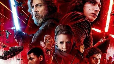 The poster art for Star Wars: The Last Jedi Photo: Disney