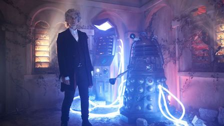 Peter Capaldi facing his demise in his final episode as Dr Who before controversially regenerating i