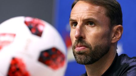 England manager Gareth Southgate has the hopes of the nation on his shoulders Picture: AARON CHOWN/P