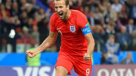 Harry Kane is hoping to add to his World Cup goal tally against Sweden Picture: ADAM DAVY/PA WIRE