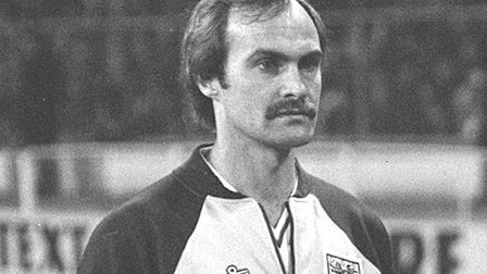 Mick Mills captained England at the 1982 World Cup in Spain. Photo: PA