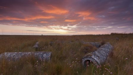 Orford Ness sunset Wicken Fen Picture: National Trust/Justin Minns