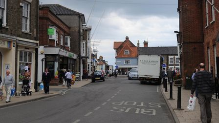 A number of burglaries were reported in Southwold High Street. Picture: SIMON PARKER
