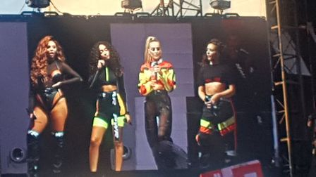 Little Mix were in Colchester as part of their Summer Hits tour Picture: LAUREN HOCKNEY