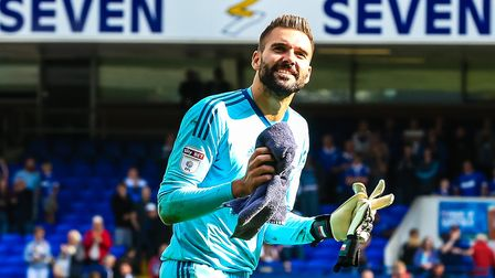 Ipswich Town have rejected an offer from Birmingham City for goalkeeper Bartosz Bialkowski. Pictu
