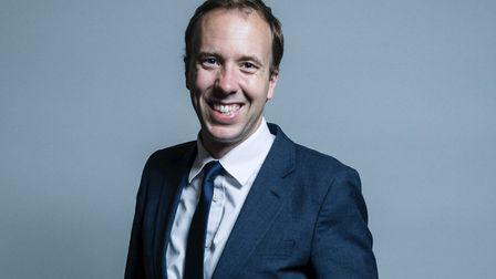 Matt Hancock, MP for West Suffolk, has been appointed Health Secretary Picture: HOUSE OF COMMONS