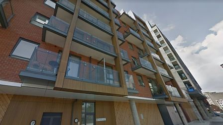 The incident happened at Zephyr Court on Ipswich Waterfront Picture: GOOGLE MAPS
