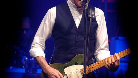 Famous waistcoat wearere Francis Rossi of Status Quo. Picture: ASHLEY PICKERING