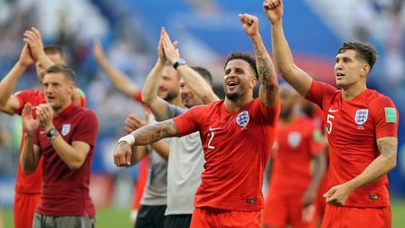 England take on Croatia at the Luzhniki Stadium in Moscow this evening. Picture: PA SPORT