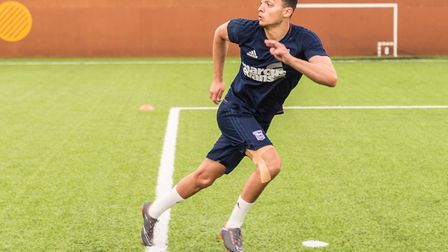 Andre Dozzell is part of the Ipswich Town squad currently at a training camp in Spain. Picture: Pave
