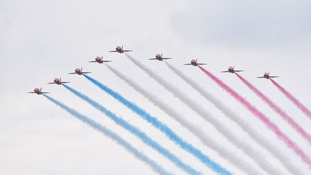 The Red Arrows Picture: NICK BUTCHER